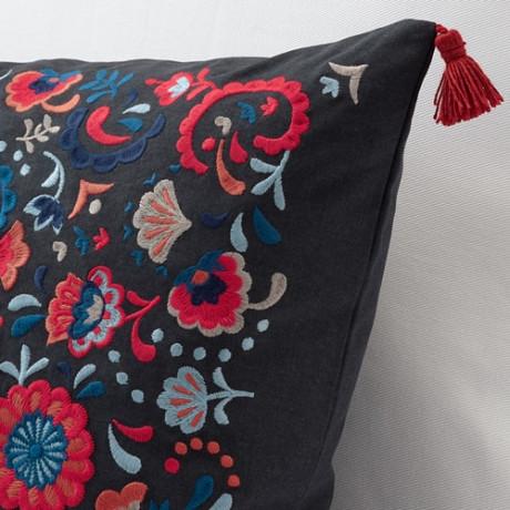 Подушка   темно-серый, разноцветный фото 2